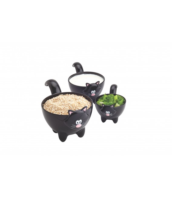 Meow Measuring Cups - 3pc