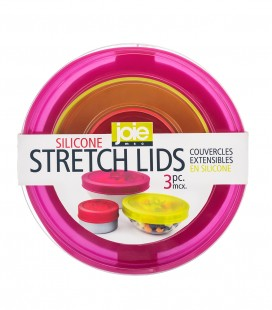 Silicone Stretch Lids - 3 pc