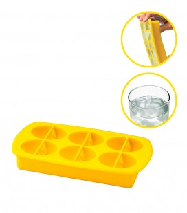 Lemon Wedgey Ice Tray