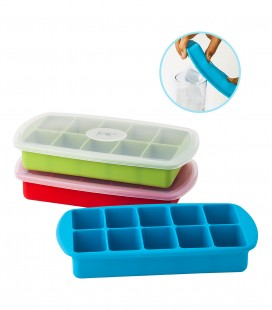 Silicone Ice Cube Tray - 10 cubes