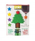 Christmas Tree Bottle Topper & Charms