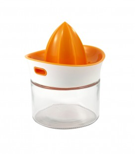Squeeze & Pour Citrus Juicer & Glass