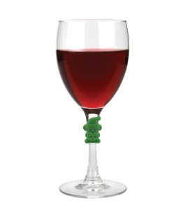 Christmas Wine Charms - 6 pc