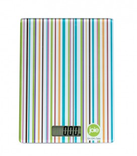Digital kitchen scale - stripes