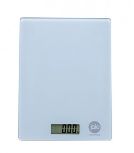 Digital kitchen scale - white