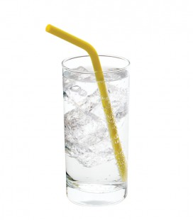 Silicone Straws - 6 pc