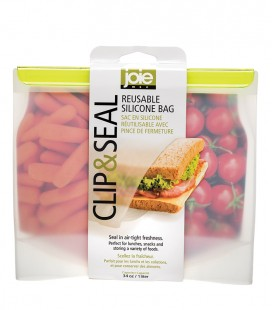 Clip & Seal - Reusable Silicone Bag