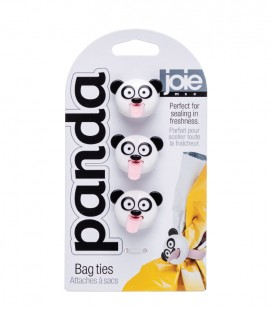 Panda Bag Ties 3pc