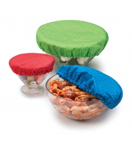 Stretch Bowl Covers - 3 pieces